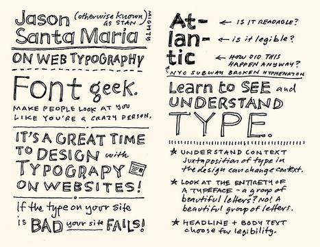 An Event Apart MinneapolisSketchnotes - Rohdesign Weblog - Designer Mike Rohde | Unstick Your Stories Using Visuals | Scoop.it