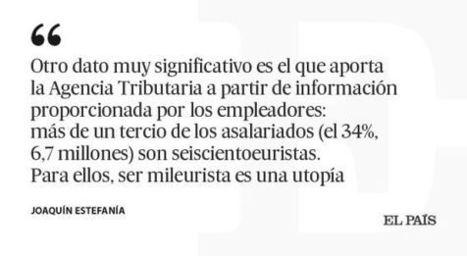 El mileurismo como utopía, Joaquín Estefanía   Diari de Miquel Iceta   Scoop.it