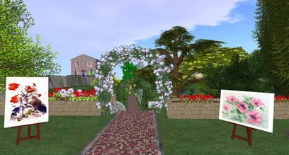 Sisse Singhs Art Gallery, Panquehue- Second Life (Part 2 ) | Second Life Destinations | Scoop.it