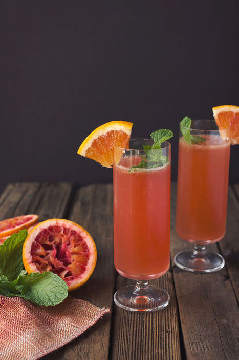 Seasonal Citrus Libations - This Blood Orange and Bourbon Cocktail is an Easy to Recreate Recipe (TrendHunter.com) | Candy Buffet Weddings, Events, Food Station Buffets and Tea Parties | Scoop.it