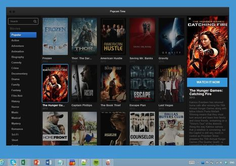 Popcorn time lets you watch all movies for free... quickly and easily! | Best Free Software | Scoop.it