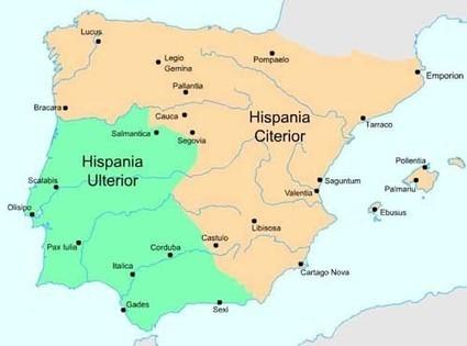 El nacimiento de las provincias Citerior y Ulterior en Hispania | LVDVS CHIRONIS 3.0 | Scoop.it