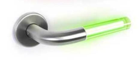 Lightsaber door handle changes color when occupied | Tech-o-Gadgets | Scoop.it