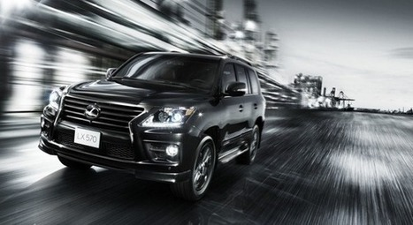 Lexus LX570 Supercharger Redesign | Cross Over SUV Club | Scoop.it