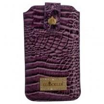 GLÖÖCKLER Luxus Tasche Croco Purple für iPhone 5 iPhone 5C iPhone 5S     tablet zubehör   Scoop.it