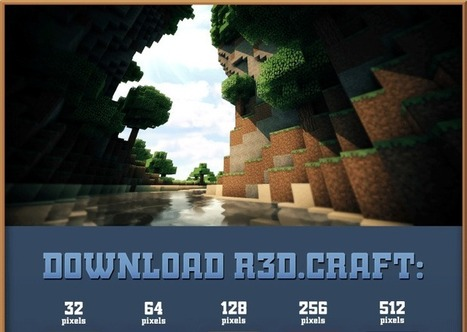 R3D.CRAFT Resource Pack for Minecraft 1.7.4/1.7.2/1.6.4 | Minecraft Resource Packs | Minecraft Resource Packs 1.7.10, 1.7.2 | Scoop.it