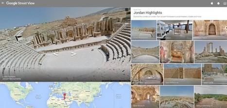Google Street View llega a Jordania… y es impresionante | ArqueoNet | Scoop.it