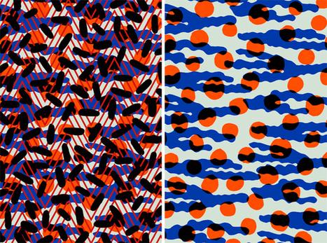 Les beaux motifs d'Elsa Bloch   LIZYBIZ TEXTILE PRINTS   Scoop.it