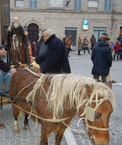 Festa di Sant'Antonio Abate a Mogliano | Cronache Maceratesi | Mogliano | Scoop.it