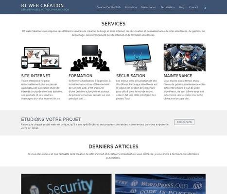 BT Web Création: agence web spécialisée WordPress - Photoptic | Communication web professionnelle | Scoop.it