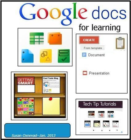 Susan Oxnevad: Google Docs for Learning | Tech & Education | Scoop.it