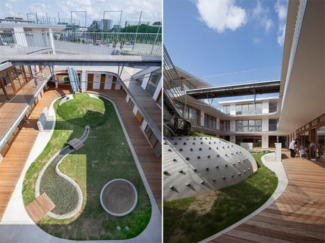 India Art n Design Global Hop : Children learn from surrounding nature at Amanenomori Nursery School, Japan | India Art n Design - Architecture | Scoop.it