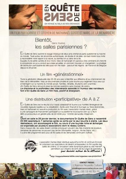 Film : En Quête de Sens | Economie Responsable et Consommation Collaborative | Scoop.it