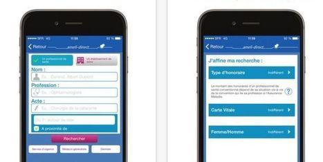 Ameli lance l'application pour trouver un médecin sans dépassement d'honoraires | Dispositifs Médicaux, e-santé | Scoop.it