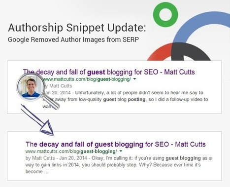 Google Author Photos are out of SERPs- What does it mean to Webmasters? | internet marketing | Scoop.it