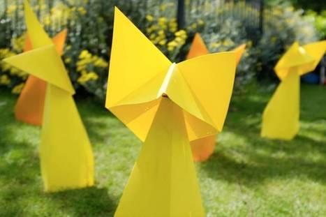 Playful Zen Gardens with Little Origami Robots | Zen Gardens | Scoop.it