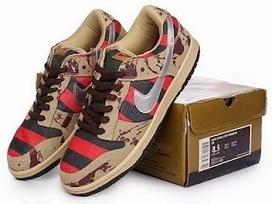 High Tops Cartoon Dunks: Freddy Krueger Dunks Horror Nike Tennis Shoes Low For Sale   Comic Nike Dunks   Scoop.it
