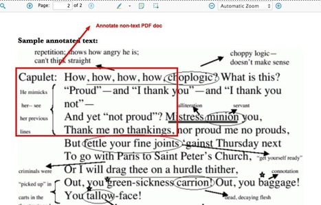 Annotating PDF Docs with Diigo - A Tutorial   | Library and social media stuff | Scoop.it