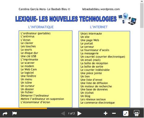 5º- LES NOUVELLES TECHNOLOGIES | Remue-méninges FLE | Scoop.it