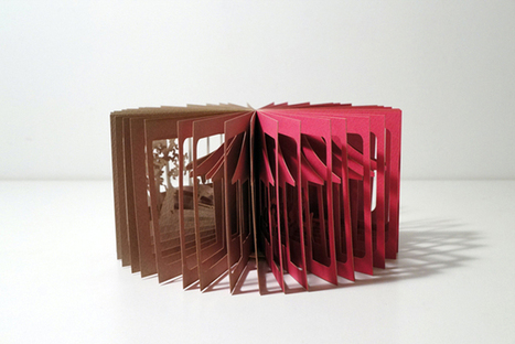 360° Visual Stories Cut into Paper Books by Yusuke Oono | PROYECTO ESPACIOS | Scoop.it