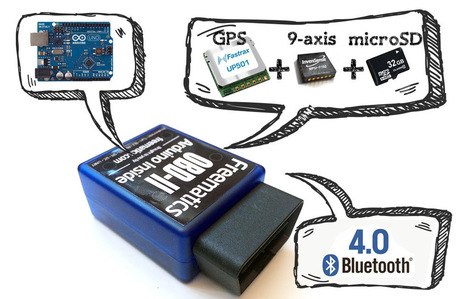 Freematics Vehicle Data Logger V3 | Open Source Hardware News | Scoop.it