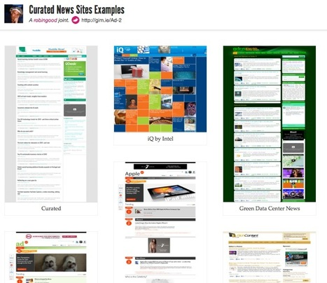 A Collection of Curated News Sites Examples | Content Curation Marketing | Scoop.it