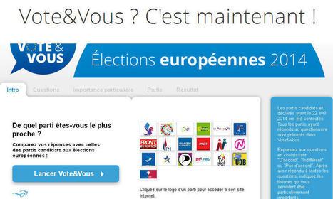 De quel candidat aux élections européennes êtes-vous le plus proche ? | Élection européennes : candidatures et campagnes | Scoop.it