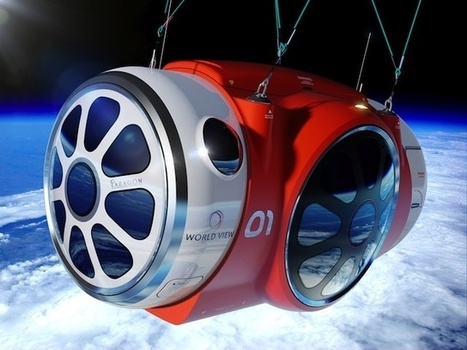 Le futur du tourisme spatial passe par une montgolfière de la taille d'un stade | The Creators Project | Tourisme spatial | Scoop.it