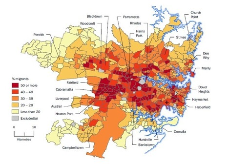 Australian Social Trends, 2014: Where Do Migrants Live?   Origins and Backgrounds of People in the Local Community (Cabramatta)   Scoop.it