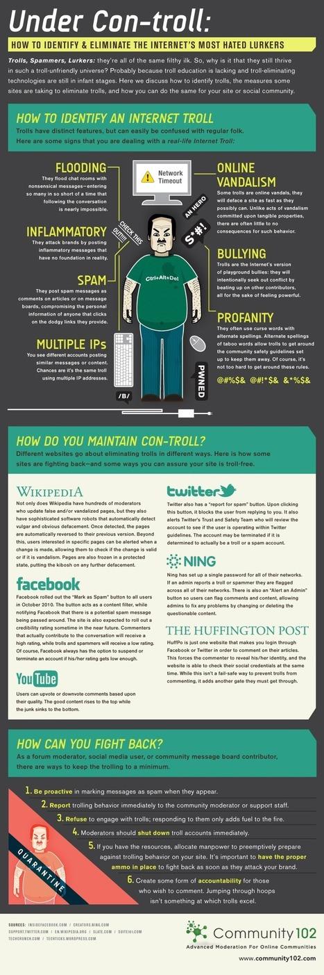 Cómo identificar de manera definitiva a un Troll de Internet #infografia #infographic   TICs y Formación   Investigaciones en TIC, y educación a distancia   Scoop.it