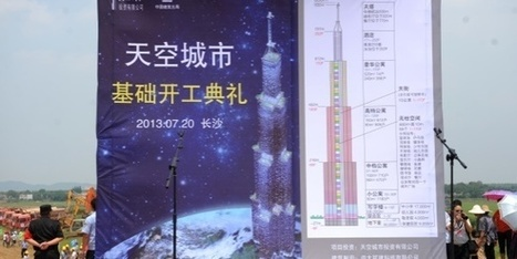 Chine: la construction de la plus haute tour monde stoppée net | Construction l'Information | Scoop.it