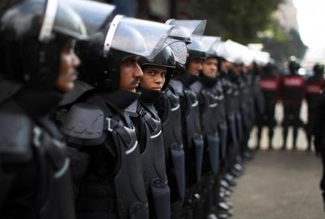 Des policiers protestent pour de meilleures conditions de travail   Égypt-actus   Scoop.it