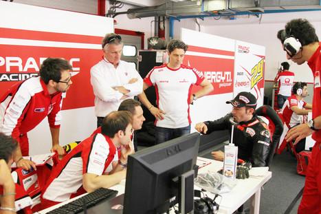 Max Biaggi Test on Pramac MotoGP at Mugello | photo gallery | Ductalk Ducati News | Scoop.it