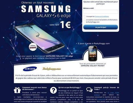 Prévention : Galaxy S6 Edge et iPhone 6 à 1€: l'UFC Que Choisir dévoile les dessous de l'arnaque | Méli-mélo de Melodie68 | Scoop.it