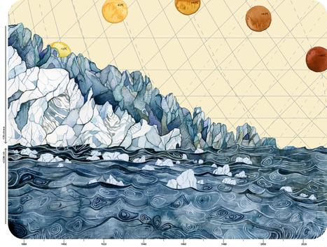 Jill Pelto, Artist of Climate Change | Art and Science | Scoop.it