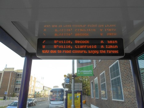 Portsmouth gets 90 talking bus stops for the blind/visually-impaired | Technology for Good | Scoop.it