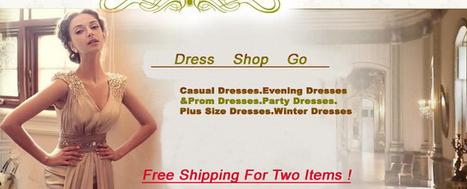 Casual dresses. Evening dresses. Party dresses shop go online sale | The Latest Fashion Dresses | Scoop.it