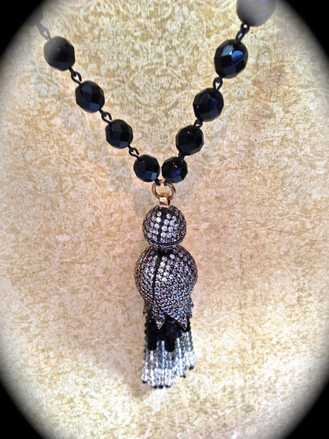 Art Deco tassle necklace Great Gatsby style   vintage jewelry   Scoop.it