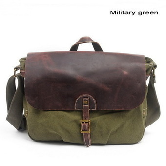 Leather flap canvas mail bags | messenger satchel bag for men from Vintage rugged canvas bags | Collection of backpack | Scoop.it