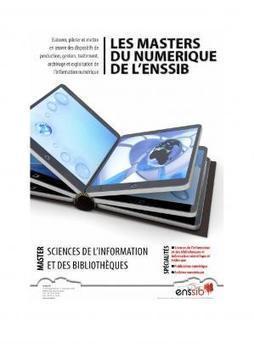 Des masters d'ingénierie de laconnaissance | Outils et  innovations pour mieux trouver, gérer et diffuser l'information | Scoop.it