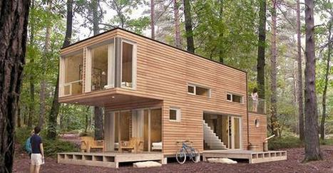 A used shipping container costs about $2K, after that it's up to you. | Eye candy | Scoop.it