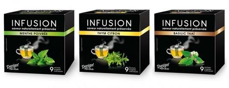 Infusions 100% naturelles Darégal - Cook Innov   Epices, aromates, poivre et vanille   Scoop.it