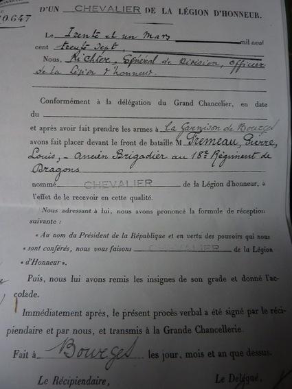 Pierre Louis Frémeau, Chevalier de la Légion d'Honneur, Médaille Militaire | Rhit Genealogie | Scoop.it