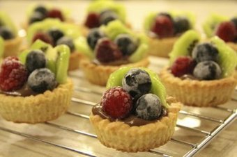 Mini Fruit Tarts with Chocolate Custard   The Bootleg Cook   otero pastry   Scoop.it