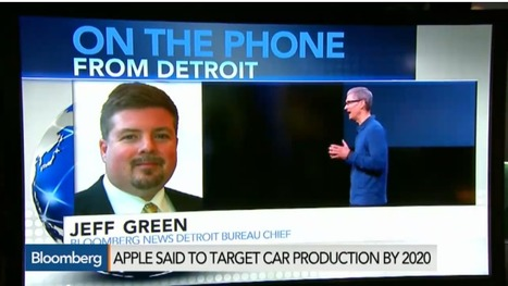 Apple Wants to Start Producing Cars as Soon as 2020 | Manufacturing In the USA Today | Scoop.it