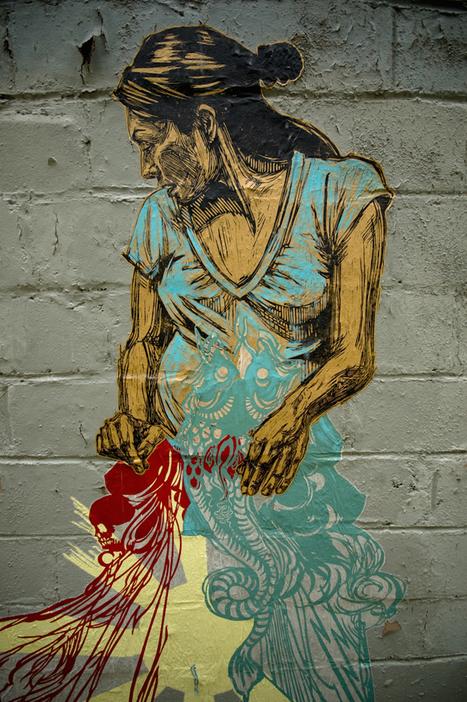 "Why Aren't ""Women Street Artists"" Just ""Street Artists""? | girls who art & graffiti | Scoop.it"