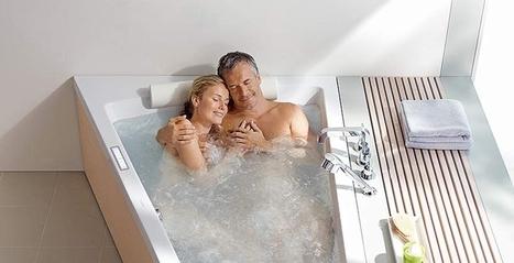 Relaxez-vous dans une baignoire 2 personnes | Espace Aubade | Scoop.it