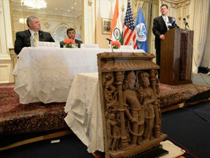 US returns three ancient stolen sculptures worth $1.5 million to India - NDTV | Ancient Crimes and Mysteries | Scoop.it