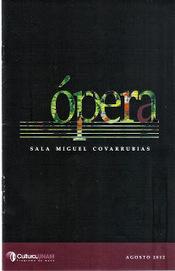 Una Voce Poco Fa: Óperas 2012 Música UNAM - México D.F   COYOACAN TRAVEL REPORT   Scoop.it