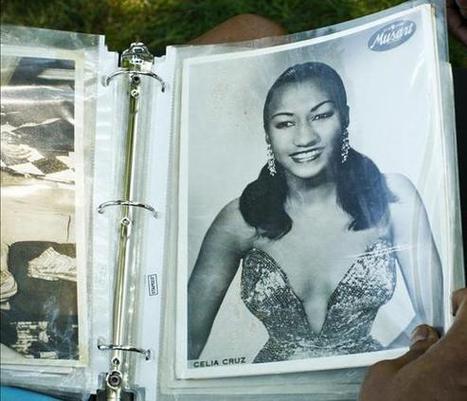 Música, baile y flores en recuerdo a Celia Cruz en el 10º aniversario ... - Hola   Cultura de baile   Scoop.it